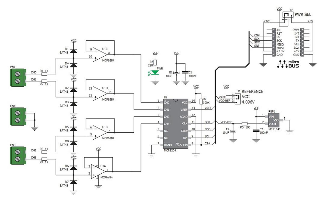 Adc stm32f4 example