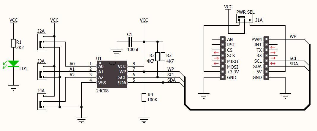 k u00f6p eeprom click till r u00e4tt pris   electrokit