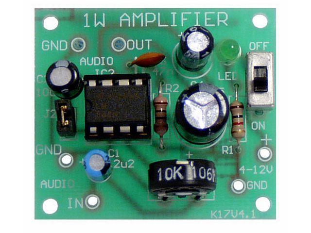 Amplifier 1W LM386