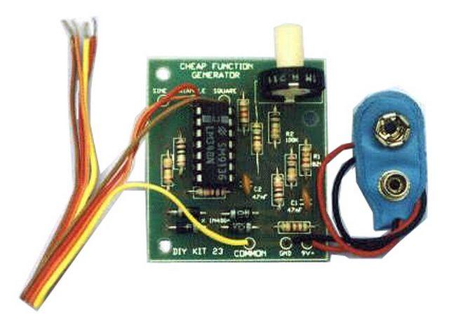 Function generator, OP-amp