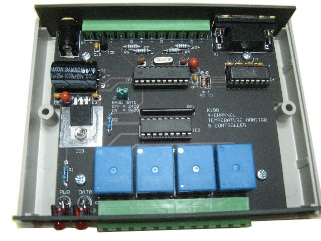 Temperature control unit 4-ch