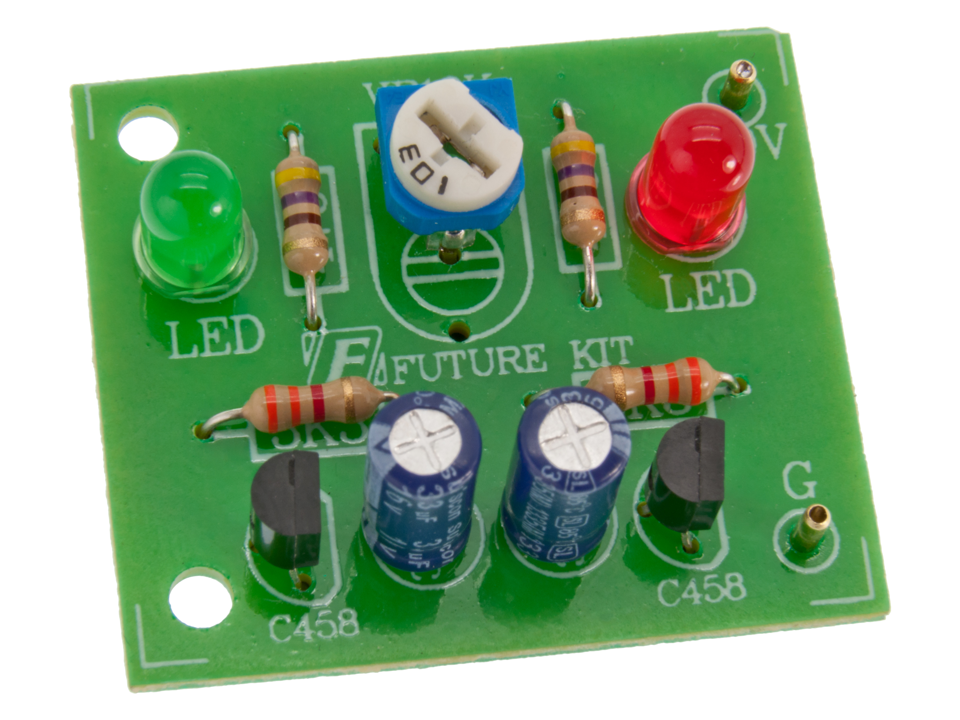 Buy Led Flasher At The Right Price Electrokit Simple Circuit Using A Transistor Home