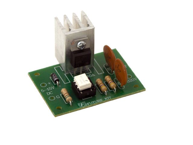 Buy Solidstate relay 220V10A at the right price Electrokit