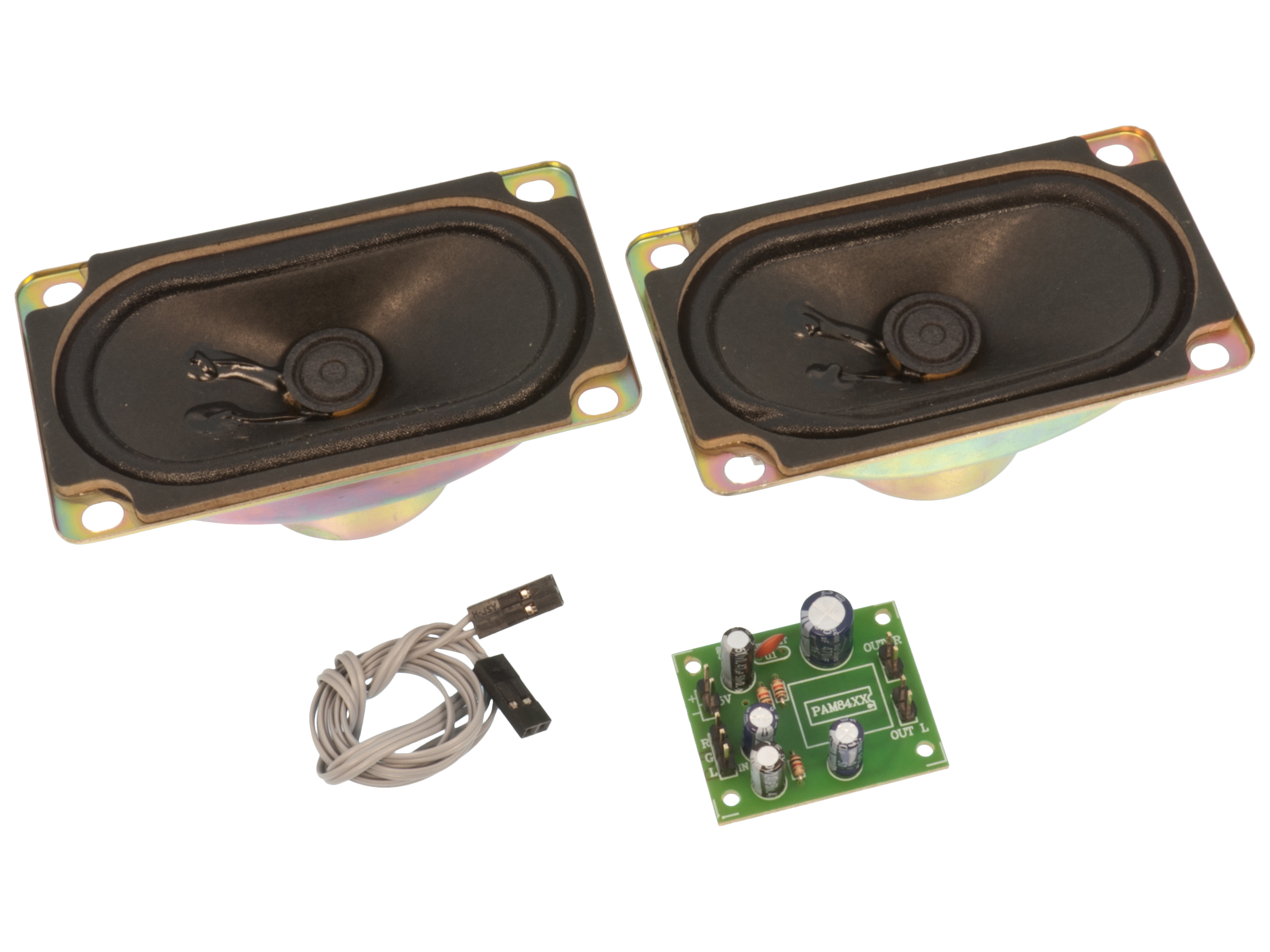 Amplifier 5W stereo Class-D with speaker