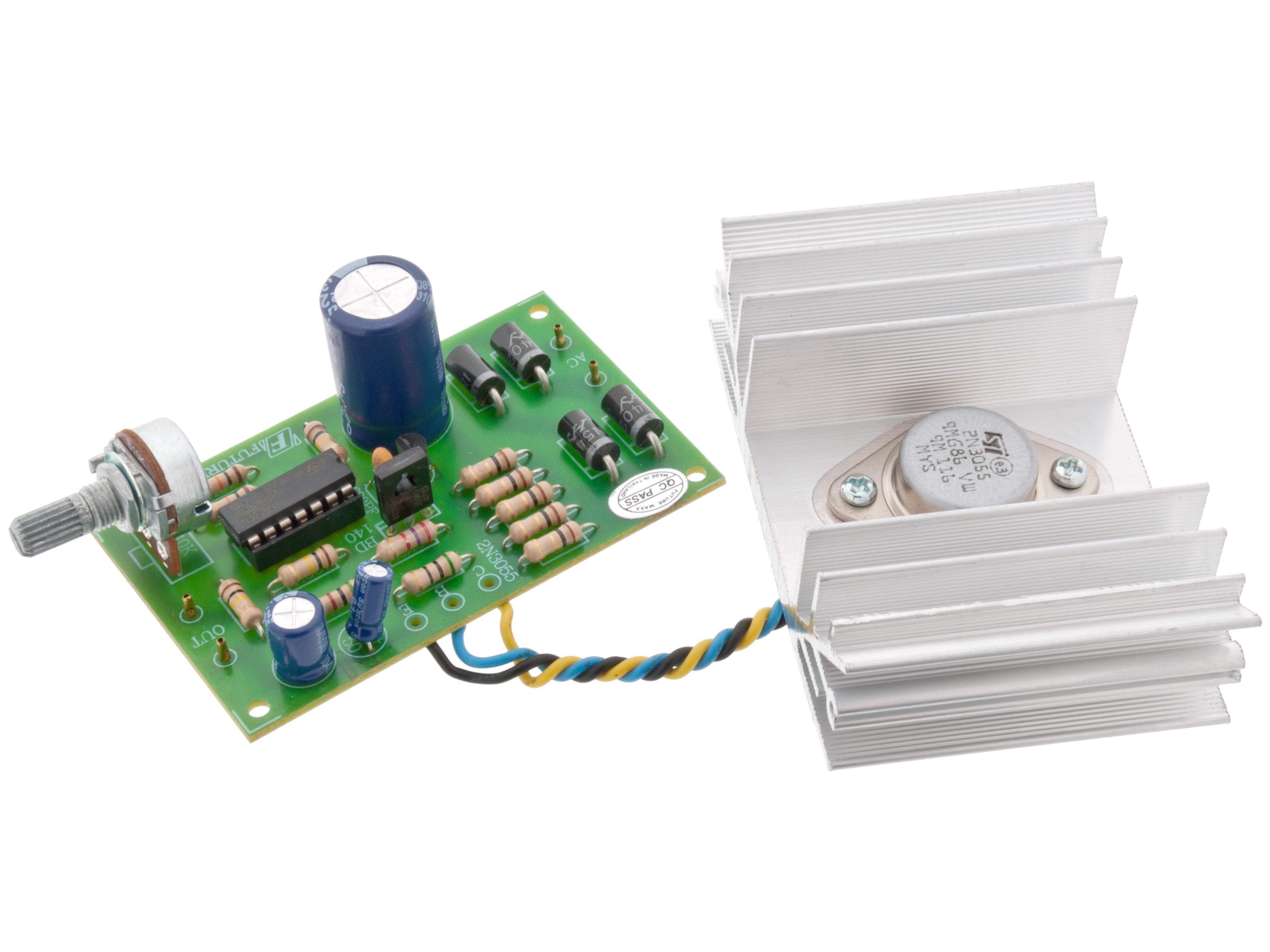 Adjustable power supply 0-30V 3A