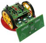 Super sumo robot (AVR-baserad)