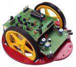 Robotbyggsats - hinderundvikande (AVR-baserad)