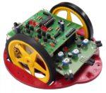 Robotbyggsats - Hinderundvikande (PIC-baserad)