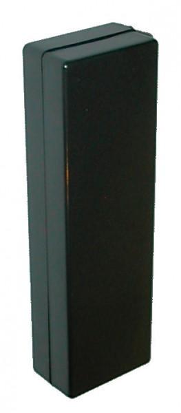 Apparatlåda FB02 svart 36x118x21mm