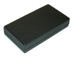 Apparatlåda FB17 svart 63x115x23mm