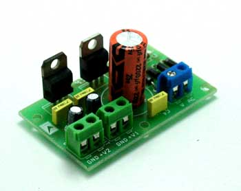 Regulated power supply 5V & 12V 1A