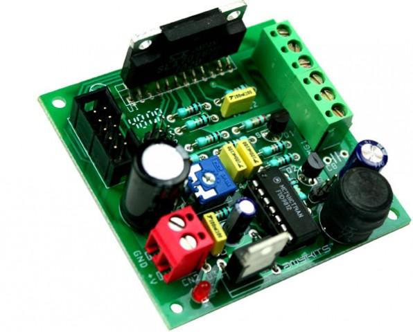 Step motor controller unipolar