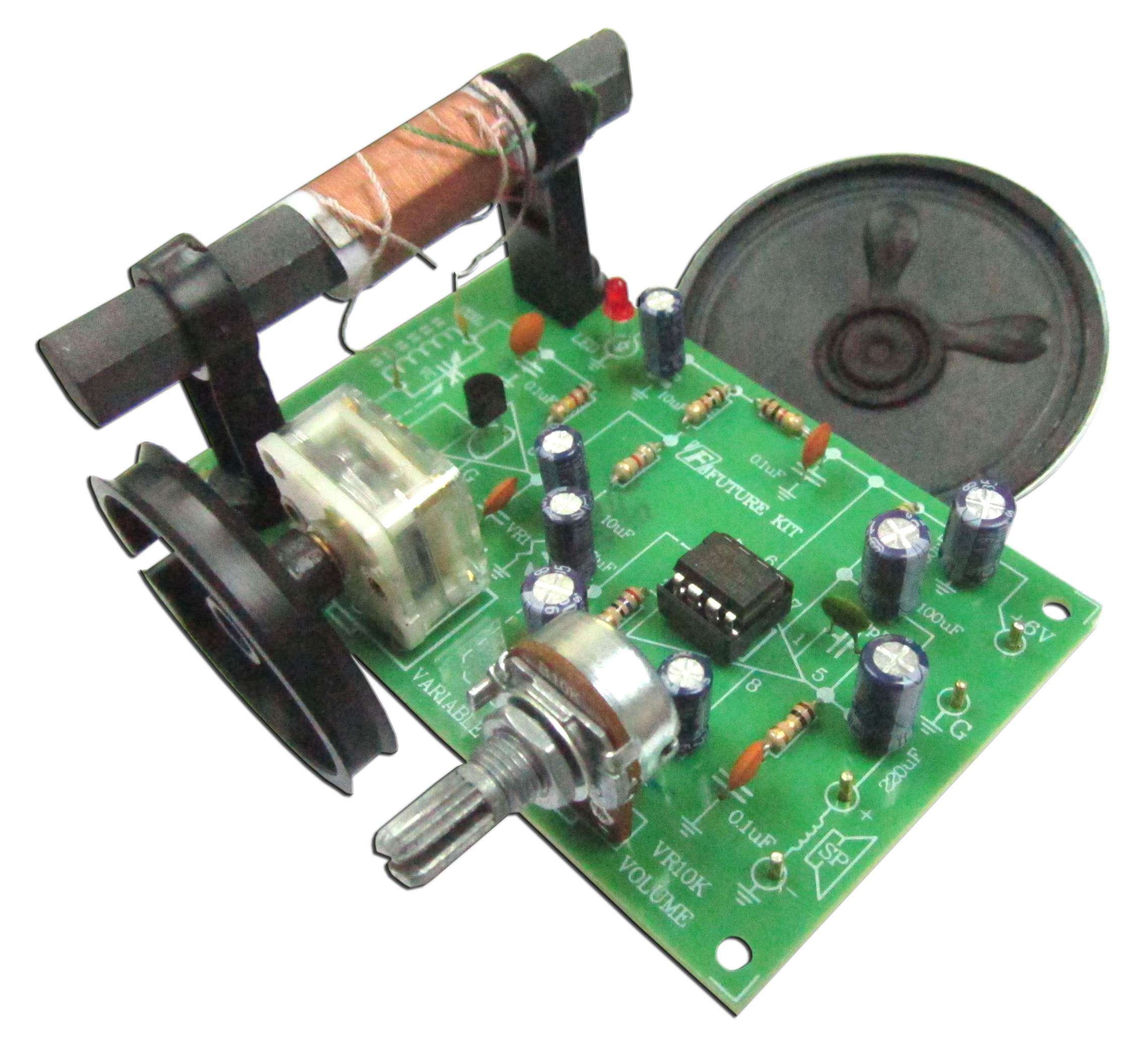 Buy Am Radio Reciever Ic Experiment Board Assembled At The Right Where To Circuit Boards Home
