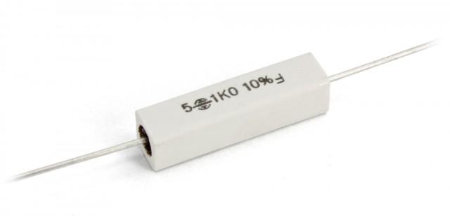 100R 5x R/ésistance m/étal oxyde 1w 100ohm 118res210 5/%