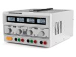 Labbaggregat 2x 0-30V 0-3A + 5V 3A LCD