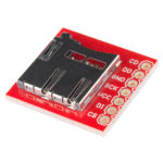 Labkort för microSD inkl kontakt