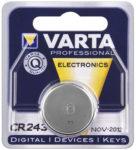 CR2430 batteri lithium 3V