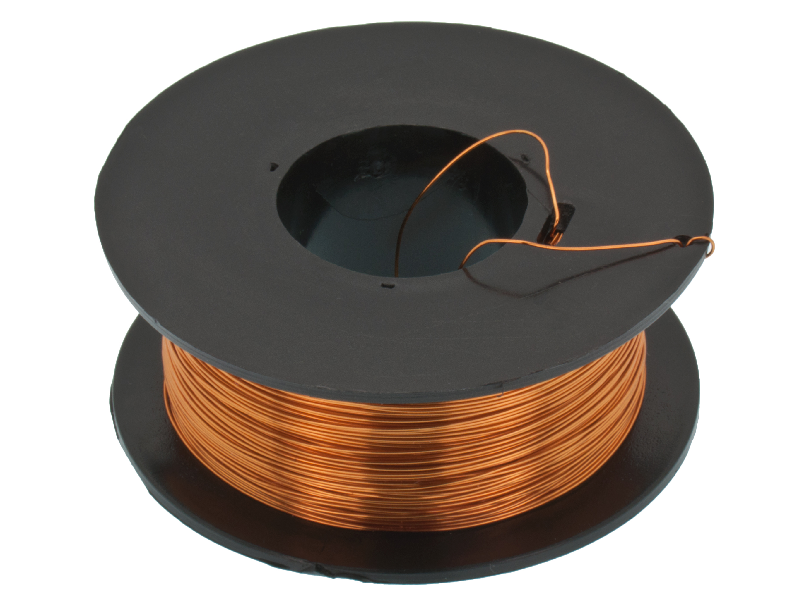 Buy Copper wire 0.10mm reel 1400m at the right price @ Electrokit
