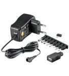 Batterieliminator 3-12V 300mA stab switchad