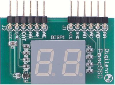 Pmod SSD - 7-segment display 2-digit