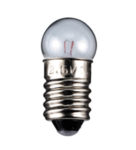 Glödlampa E10 12V 0.2A 3W glob