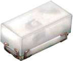 LED Blå 0402 3.3V 50mcd klar 120gr