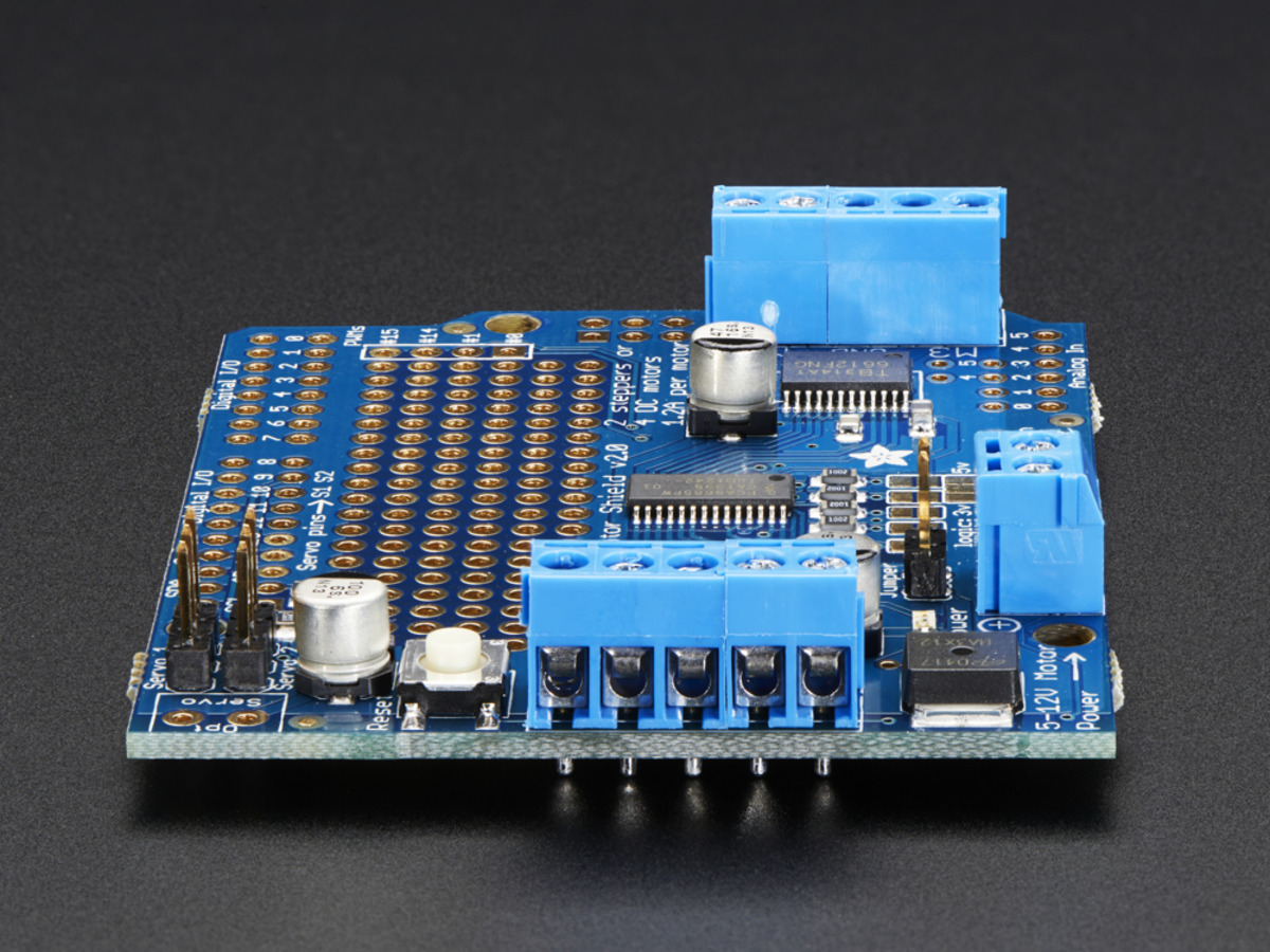Buy Adafruit Motor Shield V23 At The Right Price Electrokit Wiring Arduino Home Embedded Shields