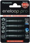 Batteri NiMH AA/LR6 2450mAh Eneloop Pro 4-pack