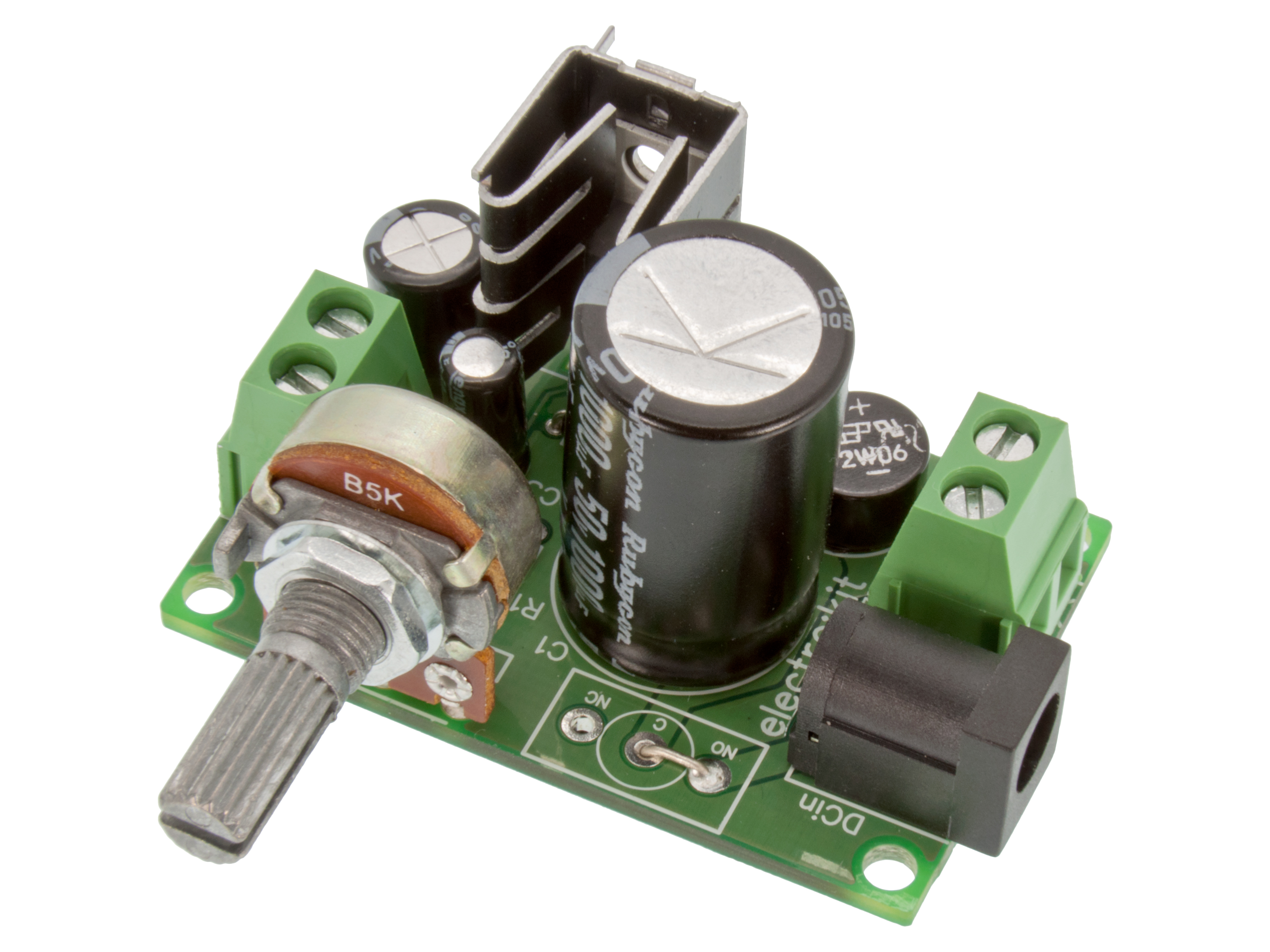 Buy Adjustable Power Supply 15 30vdc Lm317t At The Right Price Home
