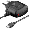 Batterieliminator 5V 2A micro USB svart