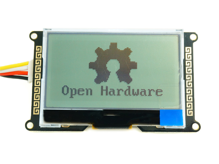 LCD module graphic 128x64px I2C
