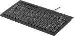 Tangentbord USB mini svart