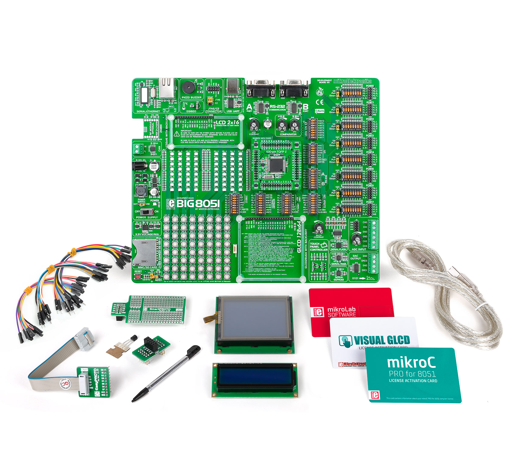 Buy Mikrolab For 8051 L At The Right Price Electrokit Programmer Circuit Home Development Tools