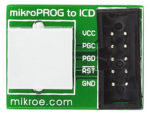mikroProg to ICD2 & ICD3 adapter