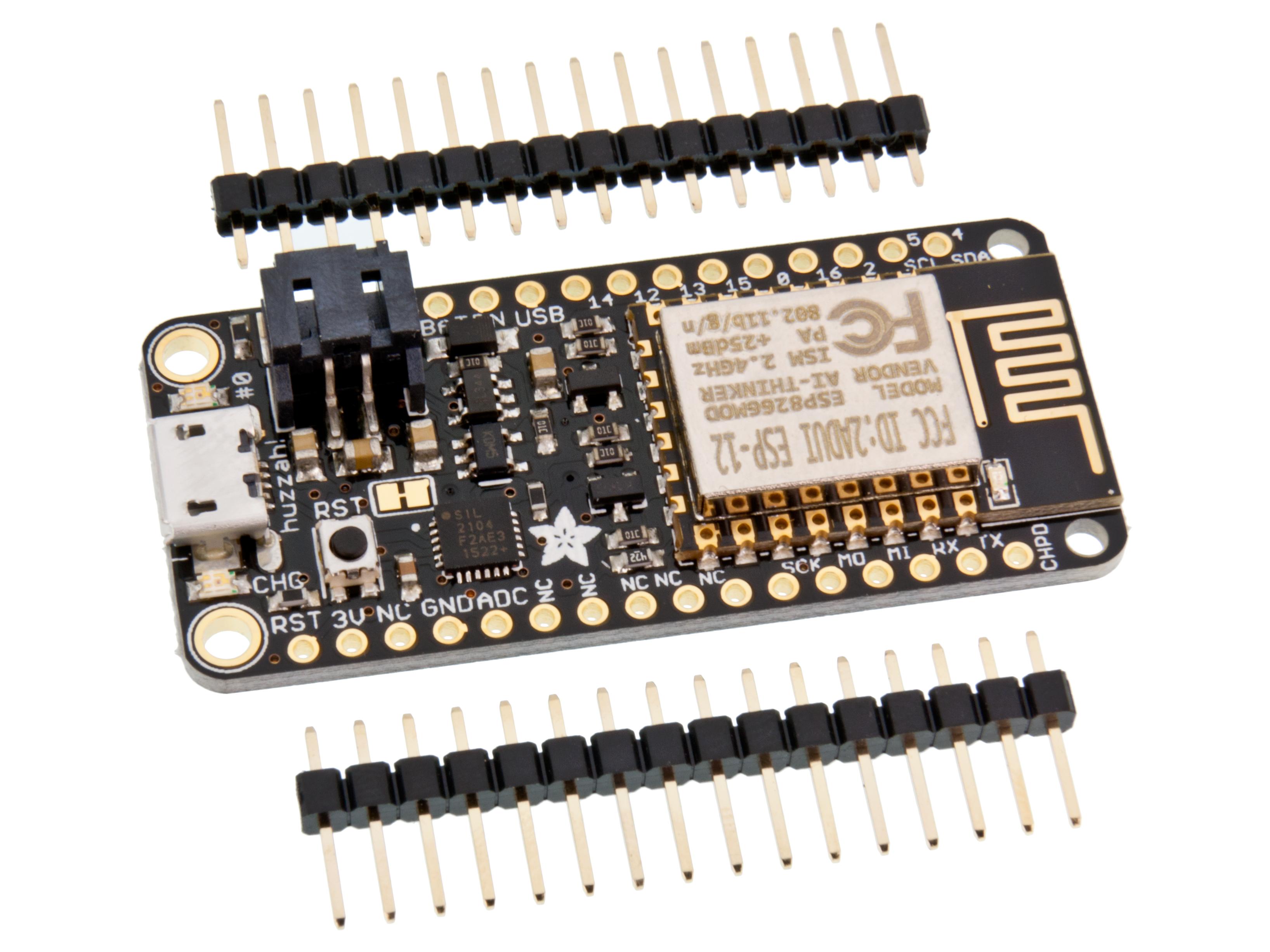Adafruit Feather Huzzah Esp8266 Ceo News Circuithelp Arduino Micro Home Embedded
