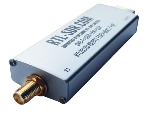 RTL-SDR receiver dongle (v3)