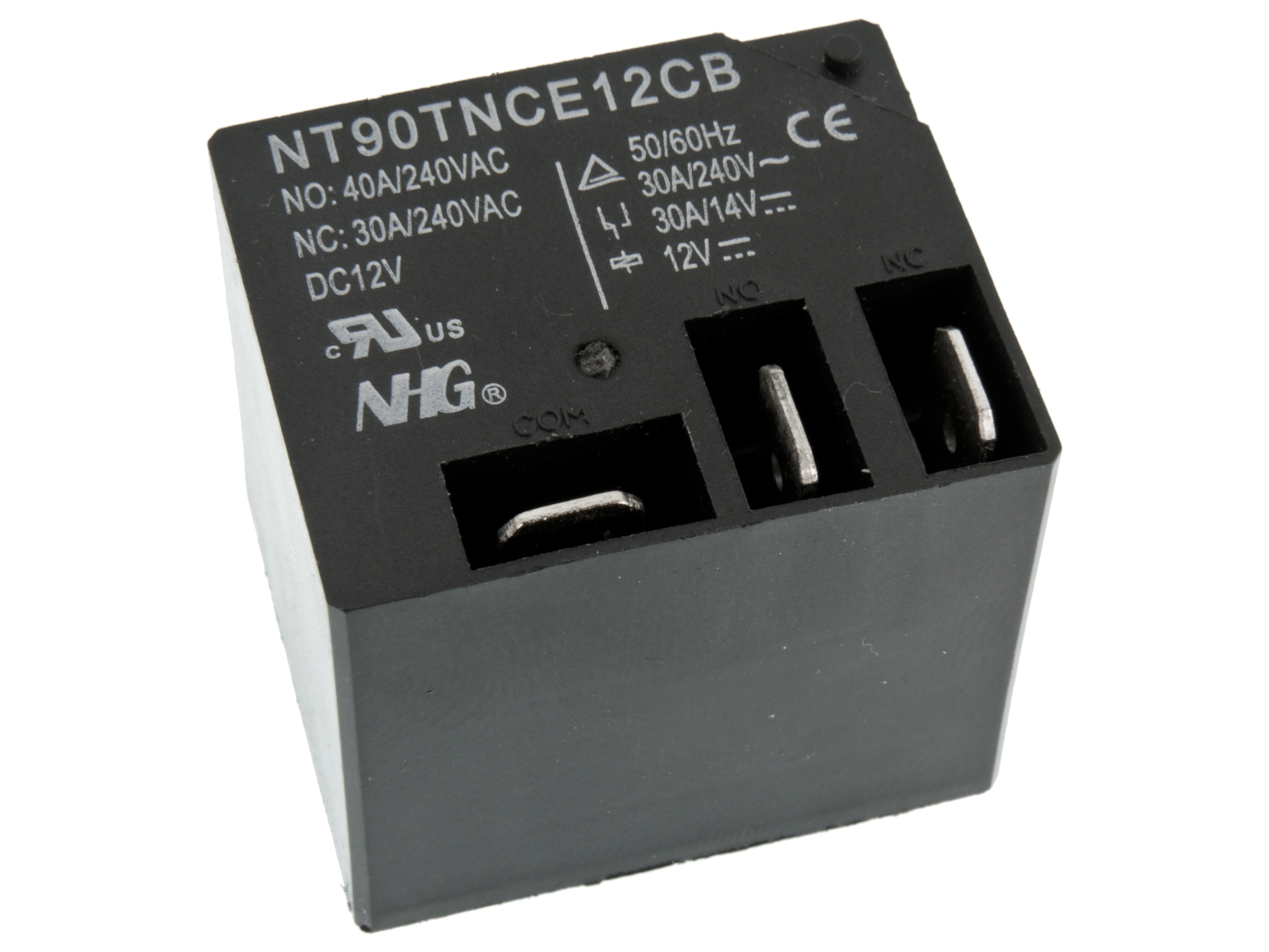 Buy Relay Nt90tnce12cb 1 P Switching 12v 30a Surplus At The Right Spdt Price Home Relays Pcb