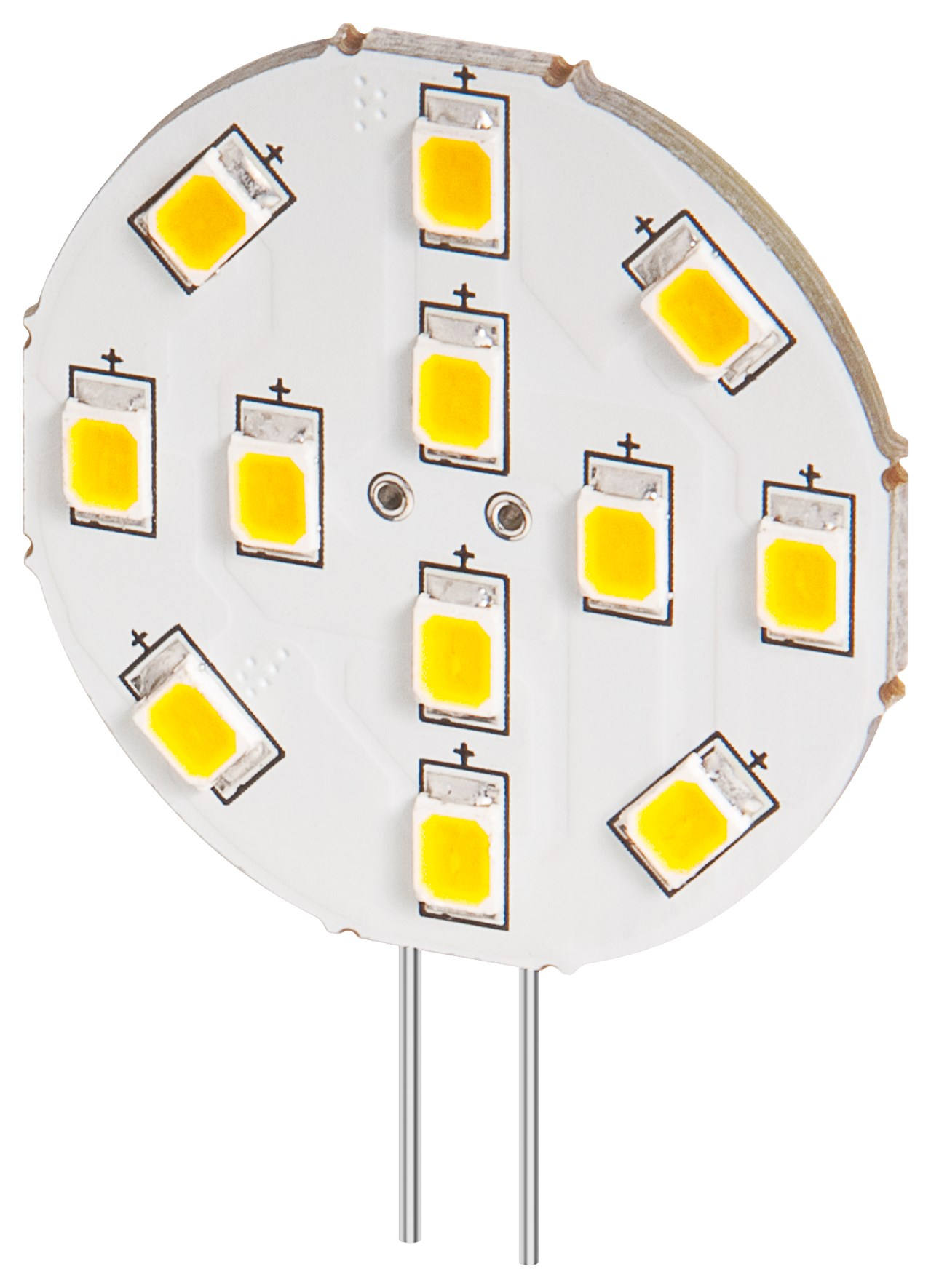 Buy LED lamp 2W warm white G4 at the right price @ Electrokit