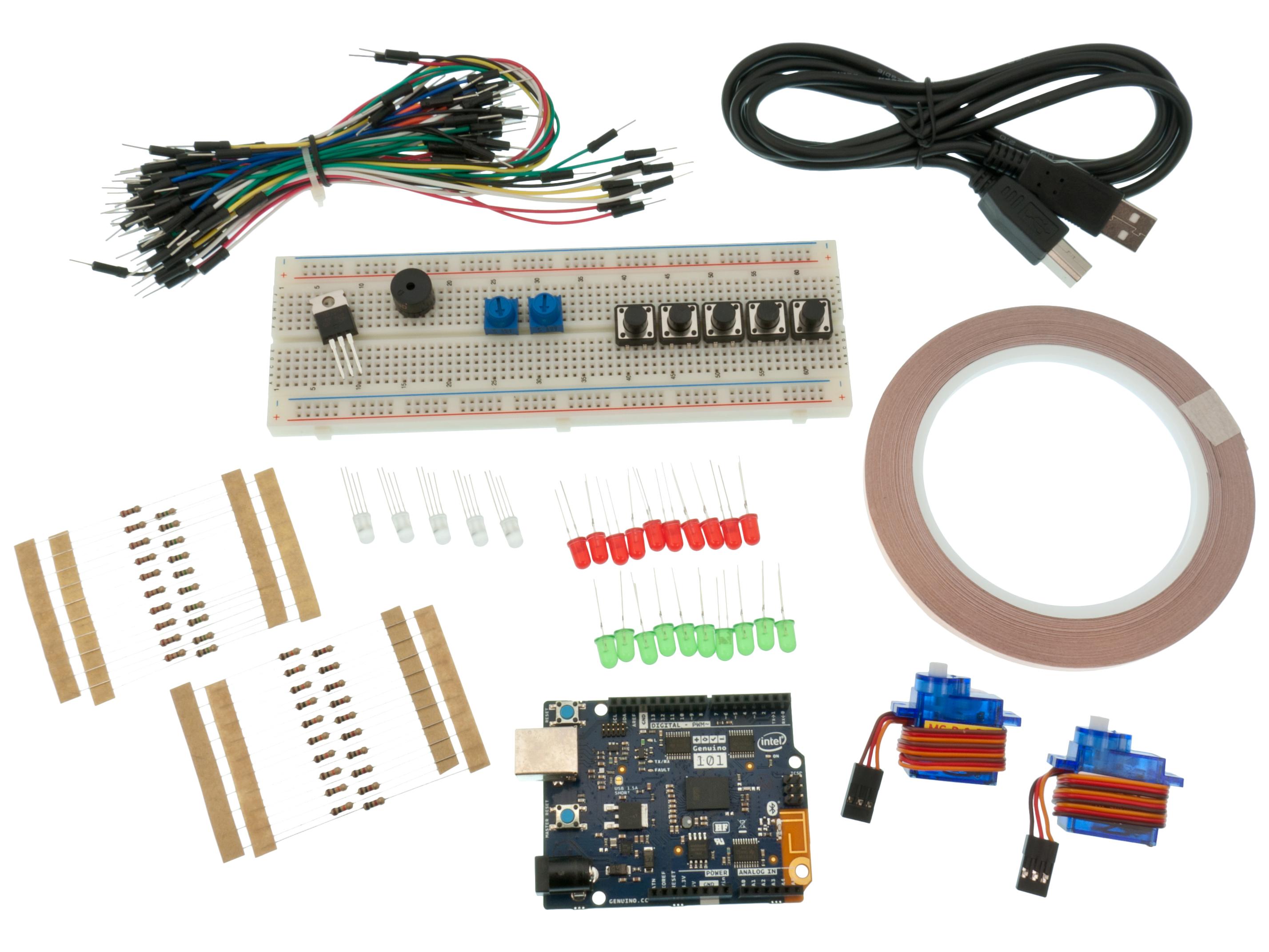 Buy Arduino 101 Starter Kit Basic At The Right Price Electrokit Wiring Home