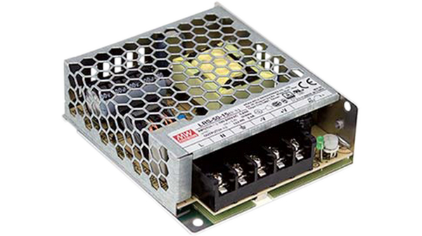 Switched power supply 5V 10A Mean Well LRS-50-5