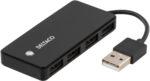 USB2.0 Hub 4 portar mini