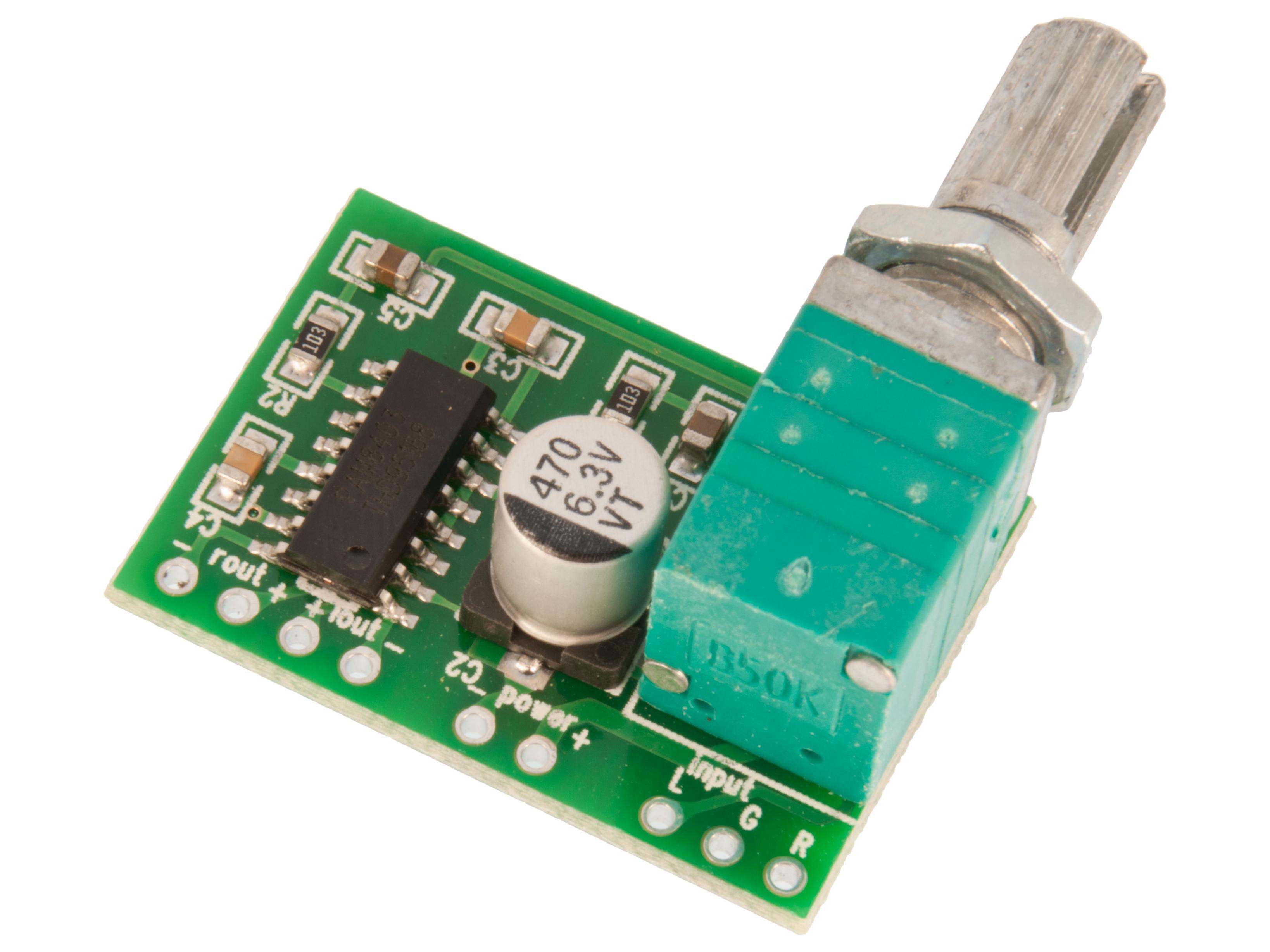 Audio amplifier module digital 3W 5V