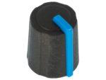 Ratt gummi blå ø11.5x13.5mm