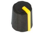Ratt gummi gul ø11.5x13.5mm
