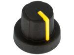 Ratt gummi gul ø18.9x15mm