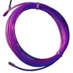 Animerad EL-tråd lila 3m