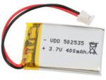 Batteri LiPo 3.7V 400mAh