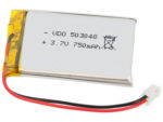 Batteri LiPo 3.7V 750mAh
