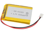 Batteri LiPo 3.7V 1500mAh