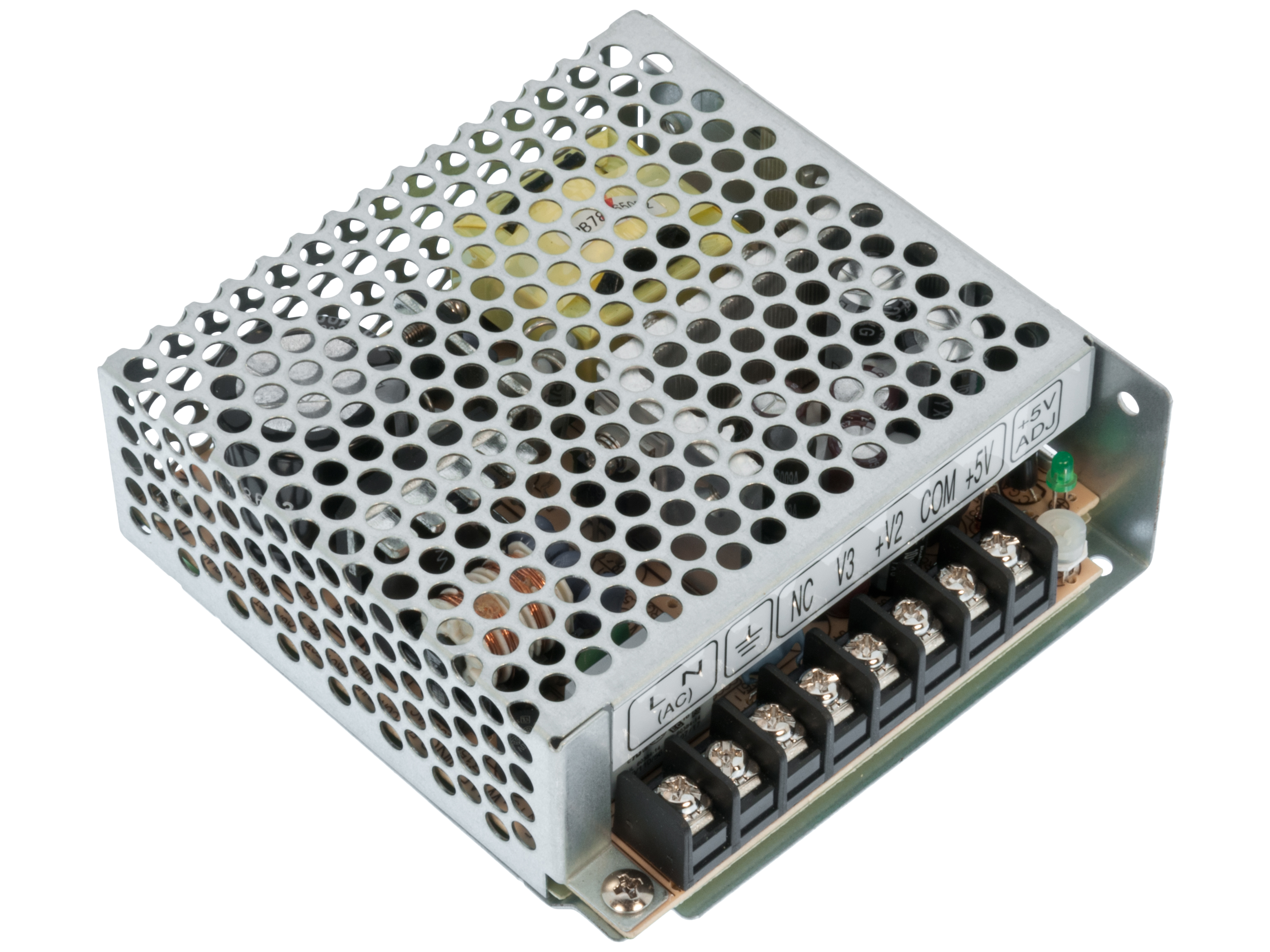 Switched power supply ±12V/5V 50W Mean Well RT-50B
